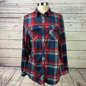 Passport very soft plus size flannel plaid size 2X